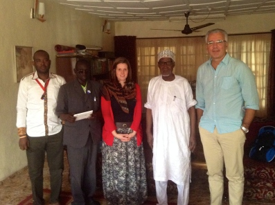 Visiting with an Imam in Jos.