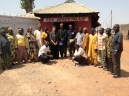 Visiting a community in Kaduna.